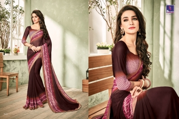 SHANGRILA INOX VOL 2 GEORGETTE PRINTS SAREES CASUAL WEAR BEST RATE BY GOSIYA EXPORTS SURAT (4)