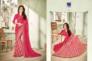 SHANGRILA INOX VOL 2 GEORGETTE PRINTS SAREES CASUAL WEAR BEST RATE BY GOSIYA EXPORTS SURAT (8)
