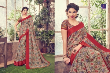 SHANGRILA KANCHANA COTTON FANCY COTTON LINEN PRINTED SAREE CATALOG IN WHOLESALE BEST ARTE BY GOSIYA EXPORTS SURAT (6)