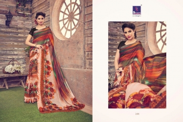 SHANGRILA KANCHANA COTTON FANCY COTTON LINEN PRINTED SAREE CATALOG IN WHOLESALE BEST ARTE BY GOSIYA EXPORTS SURAT (8)
