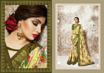 shangrila Karigari prints sarees catalog WHOLESALE RATE (1)