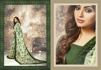 shangrila Karigari prints sarees catalog WHOLESALE RATE (10)