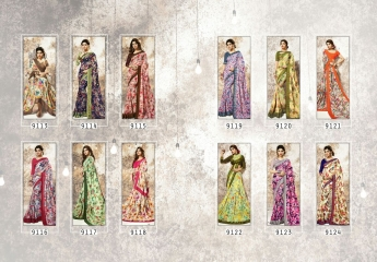 shangrila Karigari prints sarees catalog WHOLESALE RATE (13)