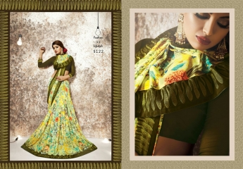 shangrila Karigari prints sarees catalog WHOLESALE RATE (8)