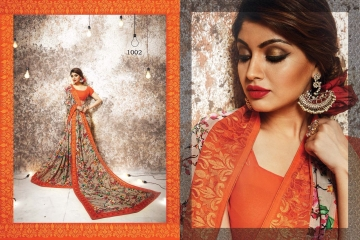 shangrila Karigari prints sarees catalog WHOLESALE RATE (9)