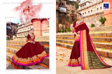 SHANGRILA LIVA SILK 2 CATALOG DESIGNER HANDLOOM SAREES WHOLESALE SUPPLIER BEST RATE BY GOSIYA EXPORTS SURAT (7)