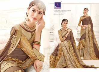 SHANGRILA MONALISA VOL 4 CATALOG ULTIMATE DESIGNER SAREES COLLECTION (4)