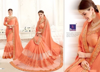 SHANGRILA MONALISA VOL 4 CATALOG ULTIMATE DESIGNER SAREES COLLECTION (5)