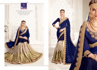 SHANGRILA MONALISA VOL 4 CATALOG ULTIMATE DESIGNER SAREES COLLECTION (6)