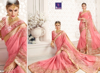 SHANGRILA MONALISA VOL 4 CATALOG ULTIMATE DESIGNER SAREES COLLECTION (7)
