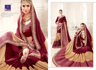 SHANGRILA MONALISA VOL 4 CATALOG ULTIMATE DESIGNER SAREES COLLECTION (8)