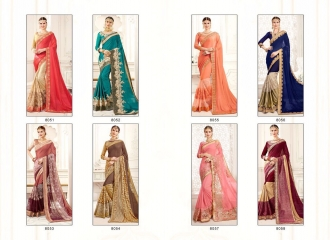 SHANGRILA MONALISA VOL 4 CATALOG ULTIMATE DESIGNER SAREES COLLECTION (9)