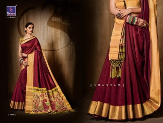 Shangrila presenting katki silk new weaving silk sarees collection BEST RATE BY GOSIYA EXPORTS SURAT (10)