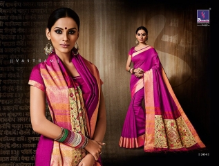 Shangrila presenting katki silk new weaving silk sarees collection BEST RATE BY GOSIYA EXPORTS SURAT (3)