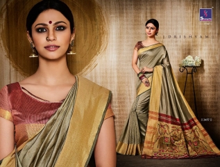 Shangrila presenting katki silk new weaving silk sarees collection BEST RATE BY GOSIYA EXPORTS SURAT (5)