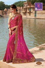 SHANGRILA ROYAL BANDHEJ COLLECTION WHOLESALE BEST RATE CATALOGUE BY GOSIYA EXPORTS SURAT (10)