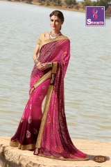SHANGRILA ROYAL BANDHEJ COLLECTION WHOLESALE BEST RATE CATALOGUE BY GOSIYA EXPORTS SURAT (11)