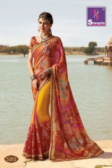 SHANGRILA ROYAL BANDHEJ COLLECTION WHOLESALE BEST RATE CATALOGUE BY GOSIYA EXPORTS SURAT (12)
