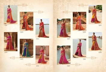 SHANGRILA ROYAL BANDHEJ COLLECTION WHOLESALE BEST RATE CATALOGUE BY GOSIYA EXPORTS SURAT (13)