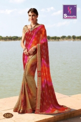 SHANGRILA ROYAL BANDHEJ COLLECTION WHOLESALE BEST RATE CATALOGUE BY GOSIYA EXPORTS SURAT (3)