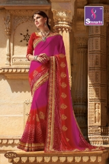SHANGRILA ROYAL BANDHEJ COLLECTION WHOLESALE BEST RATE CATALOGUE BY GOSIYA EXPORTS SURAT (4)