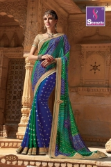 SHANGRILA ROYAL BANDHEJ COLLECTION WHOLESALE BEST RATE CATALOGUE BY GOSIYA EXPORTS SURAT (5)
