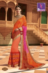 SHANGRILA ROYAL BANDHEJ COLLECTION WHOLESALE BEST RATE CATALOGUE BY GOSIYA EXPORTS SURAT (8)