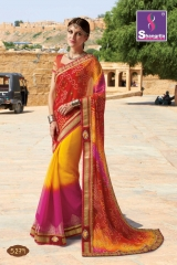 SHANGRILA ROYAL BANDHEJ COLLECTION WHOLESALE BEST RATE CATALOGUE BY GOSIYA EXPORTS SURAT (9)