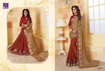 SHANGRILA SPARKLE VOL 2 FANCY FABRICS DESIGNER SAREES FESTIVAL COLLECTION WHOLESALE BEST RATE BY GOSIYA EXPORTS (1)