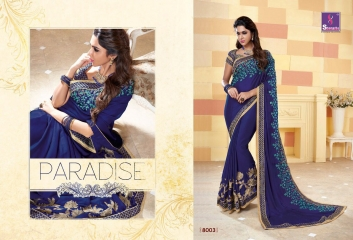 SHANGRILA SPARKLE VOL 2 FANCY FABRICS DESIGNER SAREES FESTIVAL COLLECTION WHOLESALE BEST RATE BY GOSIYA EXPORTS (14)