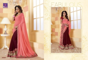 SHANGRILA SPARKLE VOL 2 FANCY FABRICS DESIGNER SAREES FESTIVAL COLLECTION WHOLESALE BEST RATE BY GOSIYA EXPORTS (15)