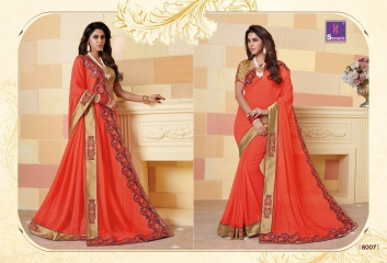 SHANGRILA SPARKLE VOL 2 FANCY FABRICS DESIGNER SAREES FESTIVAL COLLECTION WHOLESALE BEST RATE BY GOSIYA EXPORTS (18)