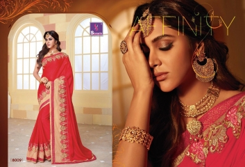 SHANGRILA SPARKLE VOL 2 FANCY FABRICS DESIGNER SAREES FESTIVAL COLLECTION WHOLESALE BEST RATE BY GOSIYA EXPORTS (20)