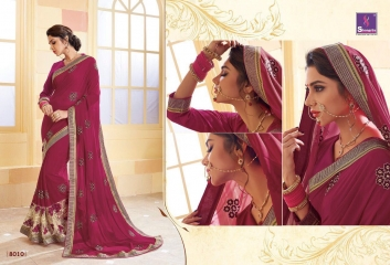 SHANGRILA SPARKLE VOL 2 FANCY FABRICS DESIGNER SAREES FESTIVAL COLLECTION WHOLESALE BEST RATE BY GOSIYA EXPORTS (21)
