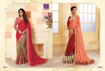 SHANGRILA SPARKLE VOL 2 FANCY FABRICS DESIGNER SAREES FESTIVAL COLLECTION WHOLESALE BEST RATE BY GOSIYA EXPORTS (22)