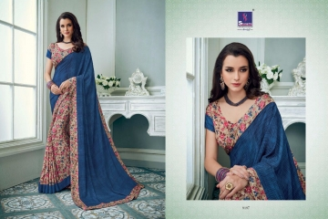SHANGRILA TISHA CRAPE VOL 3 CATALOGUE CRAPE PRINT CASUAL WEAR SAREES WHOLESALE  DEALER BEST RATE BY GOSIYA EXPORTS SURAT (3)