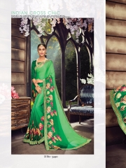 SHANGRILA ZION VOL 3 CATALOG GEORGETTE PRINTS PARTY WEAR SAREES COLLECTION SUPPLIER WHOLESALER (12)