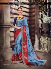 SHANGRILA ZION VOL 3 CATALOG GEORGETTE PRINTS PARTY WEAR SAREES COLLECTION SUPPLIER WHOLESALER (2)