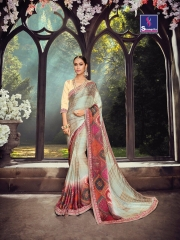 SHANGRILA ZION VOL 3 CATALOG GEORGETTE PRINTS PARTY WEAR SAREES COLLECTION SUPPLIER WHOLESALER (5)