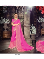 SHANGRILA ZION VOL 3 CATALOG GEORGETTE PRINTS PARTY WEAR SAREES COLLECTION SUPPLIER WHOLESALER (6)