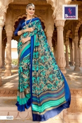 SHANRILA AALIA VOL 8 CATALOG GEORGETTE PRINTS SAREES CASUAL WEAR COLLECTION WHOLESALE (12)