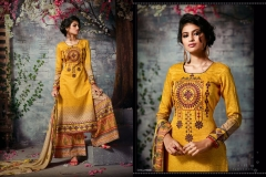 SHAZIYA VOL 2 SARGAM PRINTS JAM SILK FABRIC SALWAR SUITS (6)