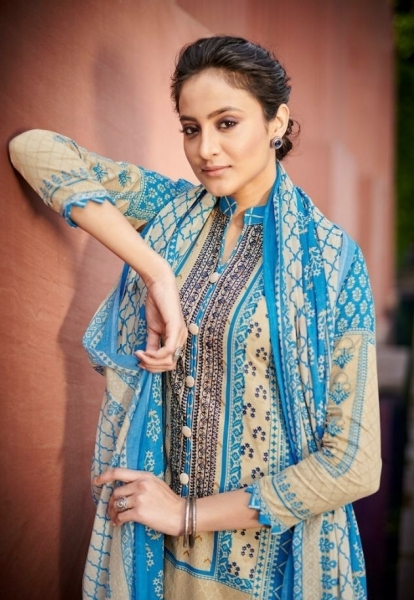 SHEHNAZ ARTS FALAKNUMA PURE LAWN COTTON WHOLESALE DRESS MATERIAL COLLECTION SUPPLIER DEALER BEST RATE BY GOSIYA EXP )