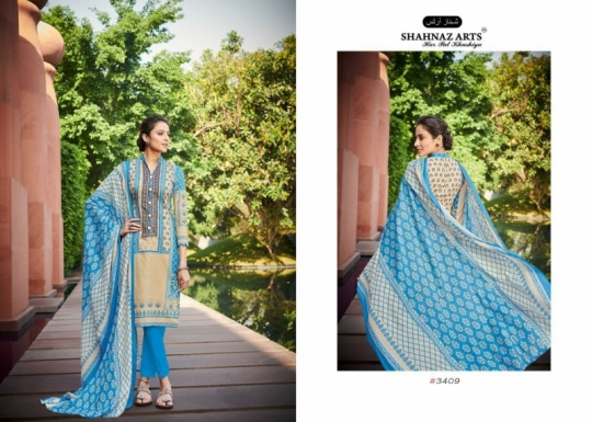 SHEHNAZ ARTS FALAKNUMA PURE LAWN COTTON WHOLESALE DRESS MATERIAL COLLECTION SUPPLIER DEALER BEST RATE BY GOSIYA EXP (2)