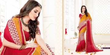 SHRAVIKA BY AKIRA VOL 3 GEORGETTE CASUAL WEAR SAREES COLLECTION WHOLESALE BEST RAET BY GOSIYA EXPORTS SURAT (1)
