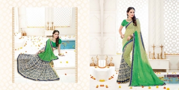 SHRAVIKA BY AKIRA VOL 3 GEORGETTE CASUAL WEAR SAREES COLLECTION WHOLESALE BEST RAET BY GOSIYA EXPORTS SURAT (12)