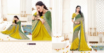 SHRAVIKA BY AKIRA VOL 3 GEORGETTE CASUAL WEAR SAREES COLLECTION WHOLESALE BEST RAET BY GOSIYA EXPORTS SURAT (18)