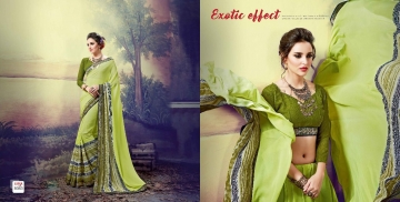 SHRAVIKA LIPSA GEORGETTE PRINTS SAREES CATALOGUE WHOLESALE BEST ARET BY GOSIYA EXPORTS SURAT (1)