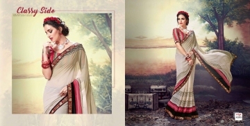 SHRAVIKA LIPSA GEORGETTE PRINTS SAREES CATALOGUE WHOLESALE BEST ARET BY GOSIYA EXPORTS SURAT (17)