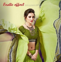 SHRAVIKA LIPSA GEORGETTE PRINTS SAREES CATALOGUE WHOLESALE BEST ARET BY GOSIYA EXPORTS SURAT
